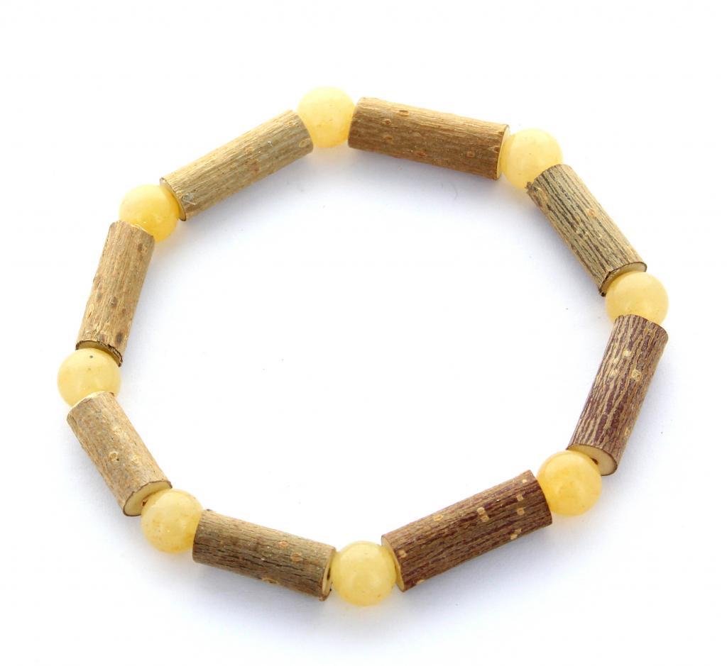 Bracelet de Noisetier | Aventurine jaune | Modèle 2 | 16cm