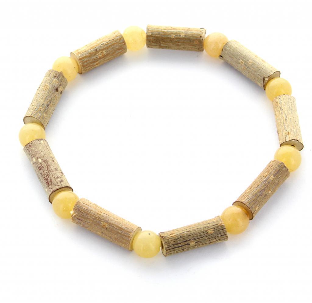 Bracelet de Noisetier | Aventurine jaune | Modèle 2 | 18cm
