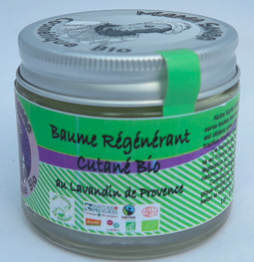 Baume crémeux Bio au Vrai Karité/Lavande 60 ml