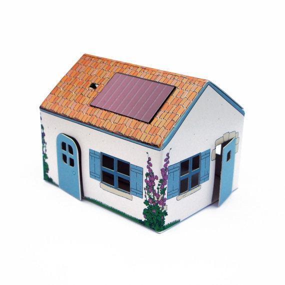 La cabane de Ré solaire
