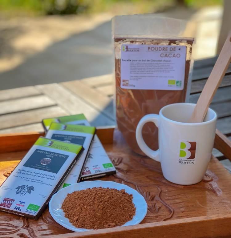 Lot spécial petit déjeuner : Chocolat chaud Bio et VEGAN