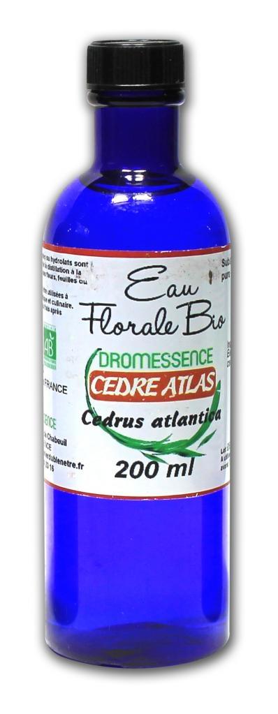 Hydrolat (ou eau florale ) cedre de l' atlas BIO 1L  DROMESSENCE