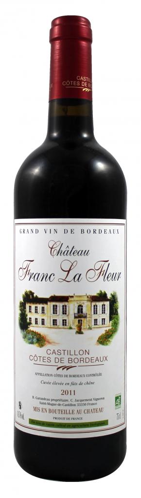 Château Franc La Fleur - Castillon-Côtes de Bordeaux - 2014