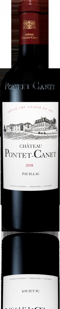 Château Pontet-Canet - Grand Cru Classé du Médoc en 1855 - Pauillac - 2011
