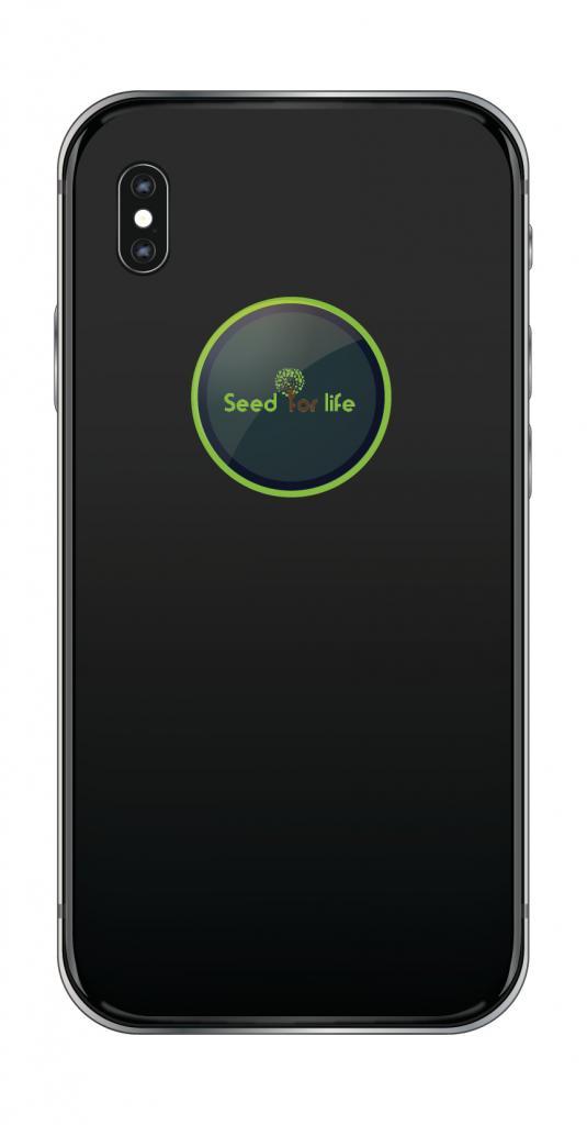 Puce suisse  Svitec anti-ondes 4G - Personnalisée ONG Graine de Vie