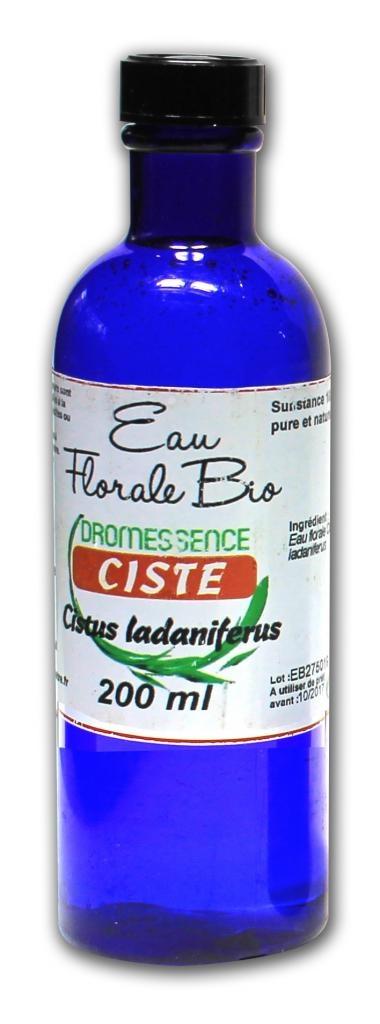Hydrolat (ou eau florale ) ciste ladanifere 200 ml BIO DROMESSENCE