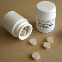 Cachets Neutres Bio  pour Huiles Essentielles (pilulier de 30 pastilles)