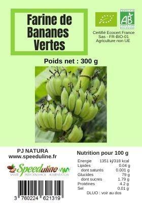 Farine de bananes vertes BIO EQUITABLE - 300 g