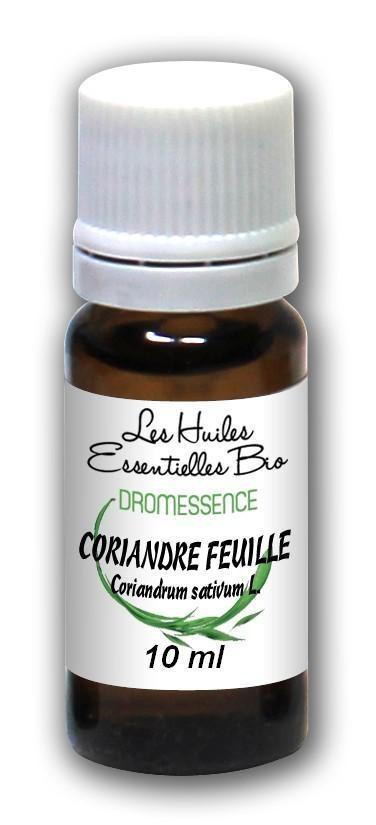 Huile essentielle Coriandre BIO (feuilles) 50 ml DROMESSENCE