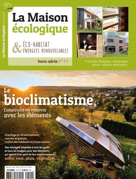 Couverture hors-série n°11 Le bioclimatisme