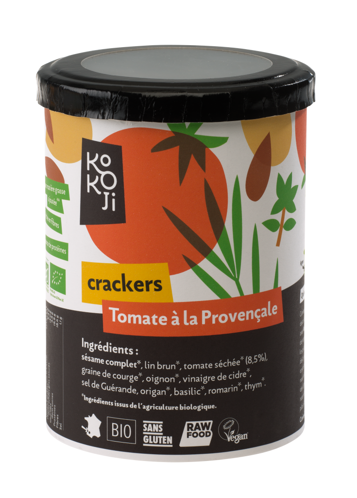 crackers tomate provençale