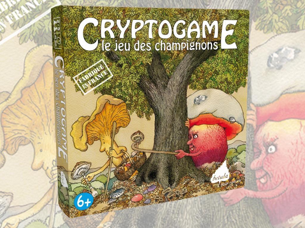 Cryptogame Jeu des Champignon Bétula éditions France