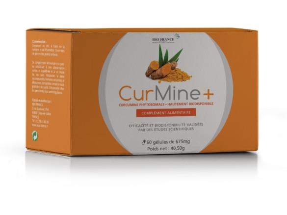 Curmine + curcumine phospholides