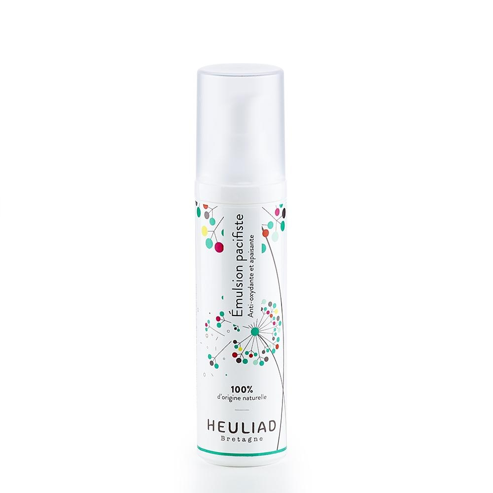 Emulsion pacifiste Heuliad fluide défroissant anti-oxydant