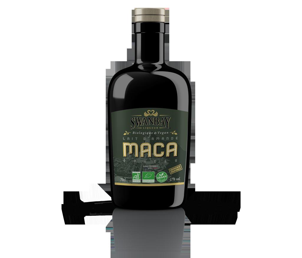 SWANBAY LIQUEUR® Maca & lait d'amande - Saveur Épices