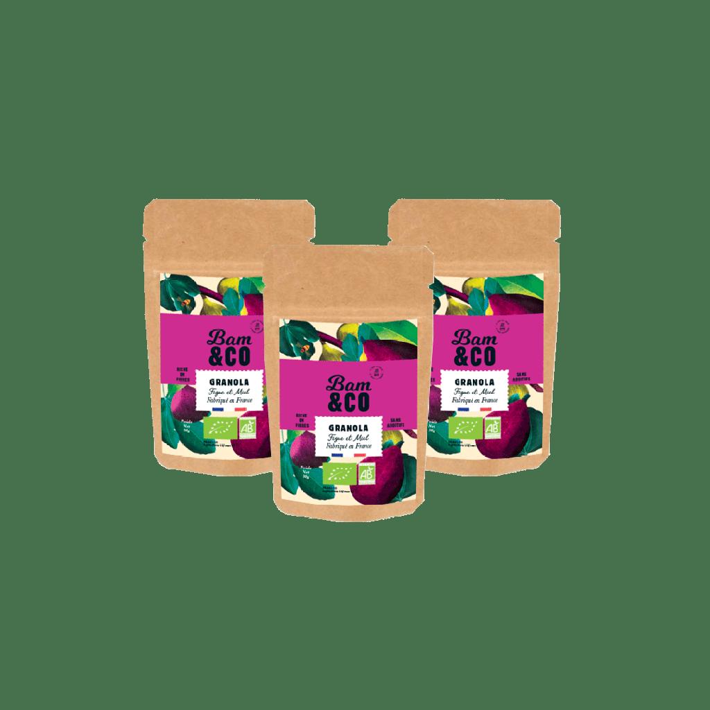 Granola Figue et Miel Nomade