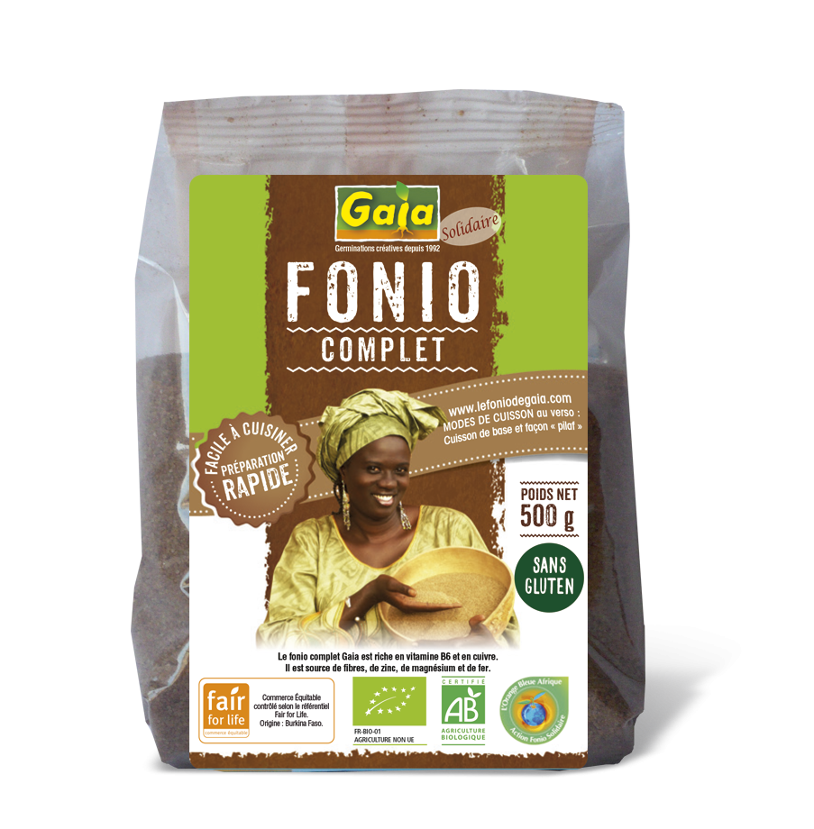 Fonio complet 500g