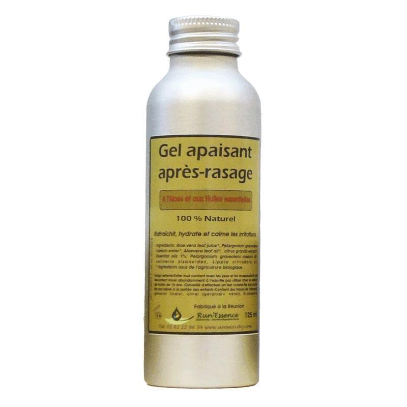 Gel apaisant après-rasage 100% naturel Run'essence 125ml