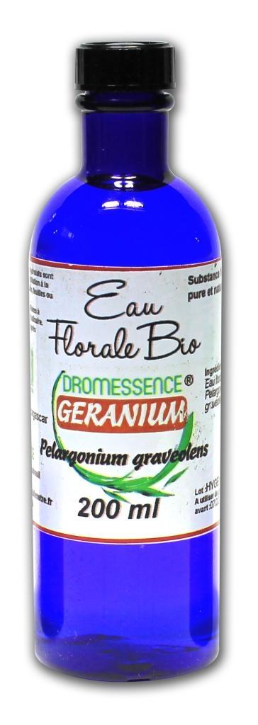 Hydrolat (ou eau florale) géranium BIO  200 ml DROMESSENCE