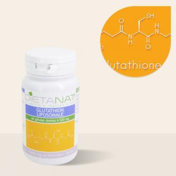 Glutathion Liposomale 60 gélules végétales 520mg