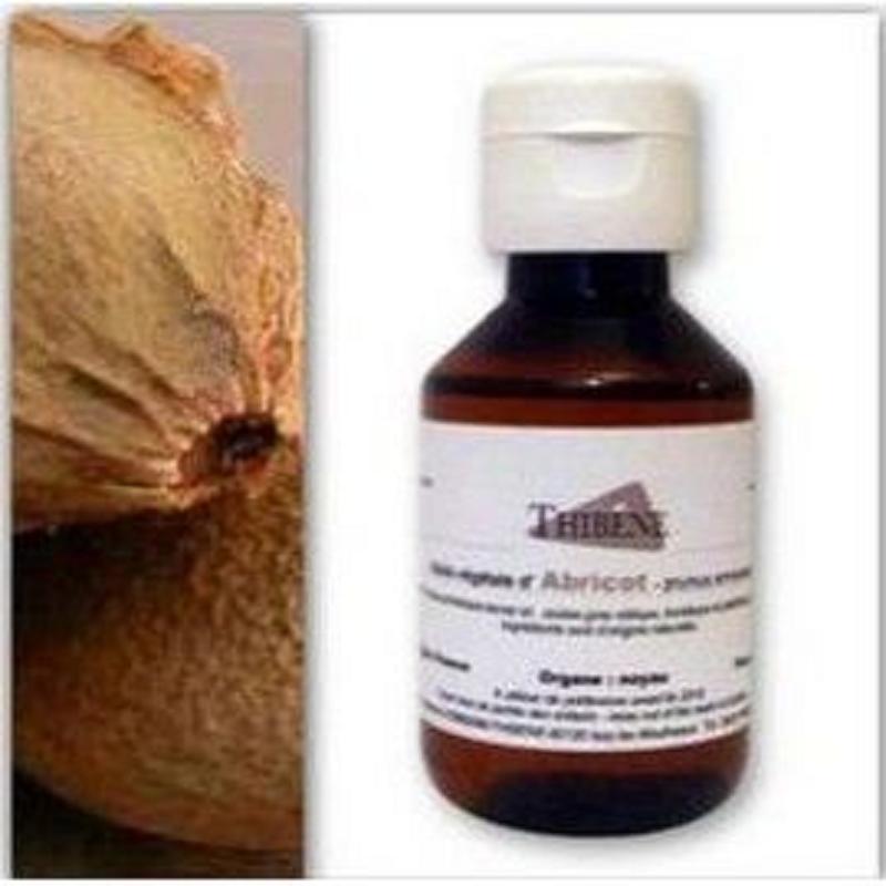 Huile végétale De Noyau d'Abricot Bio Flacon verre  100ml
