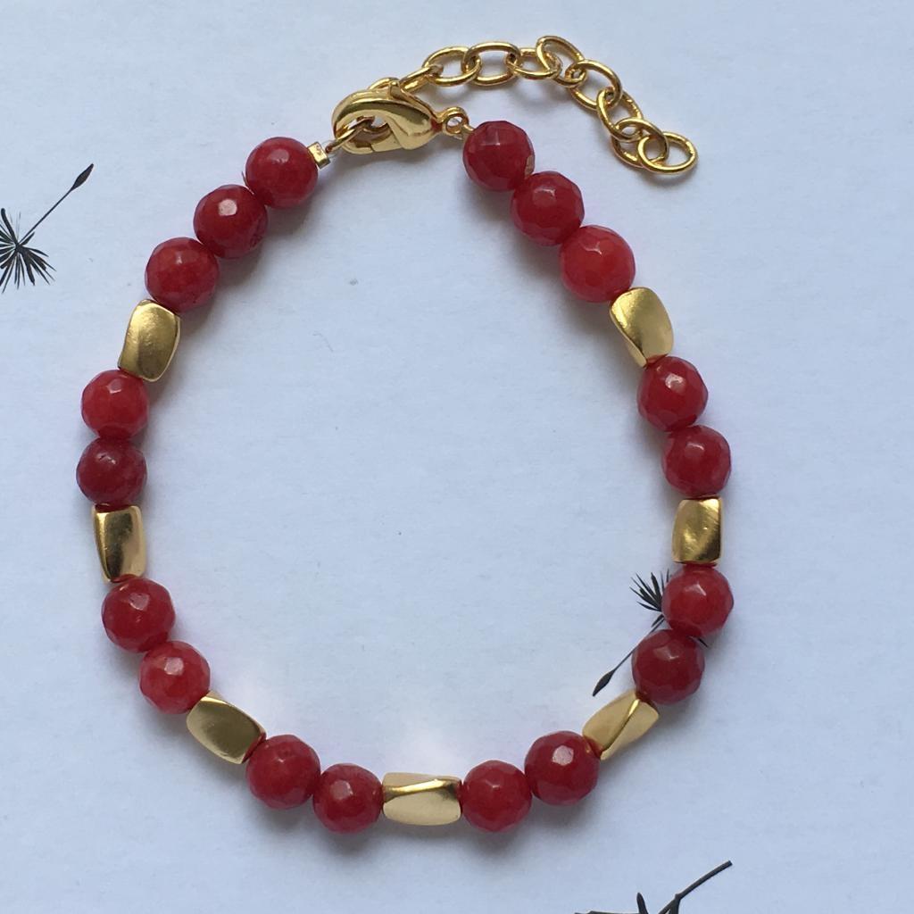 Bracelet Pierres Grenat