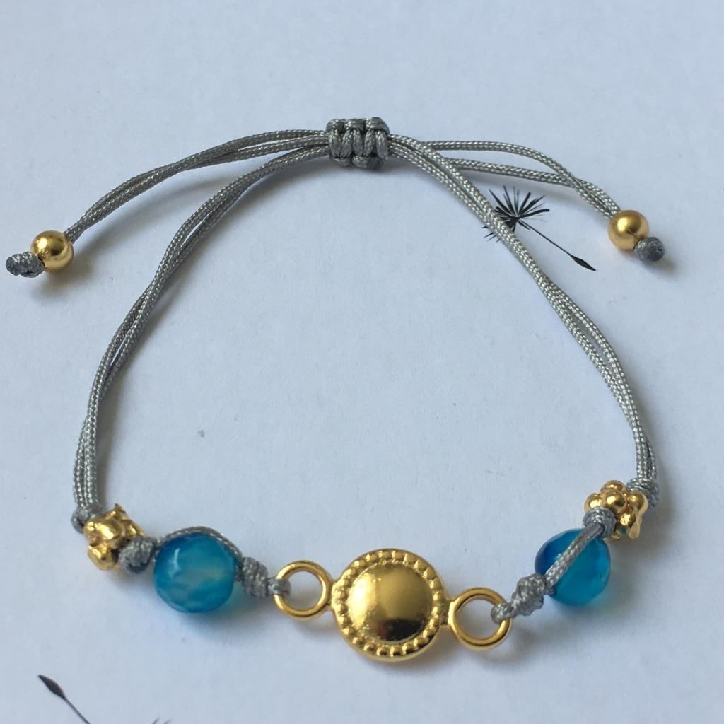 Bracelet fil gris Tairona