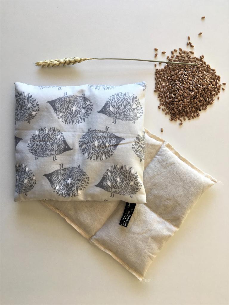 Petite bouillotte au blé biologique hérrisson