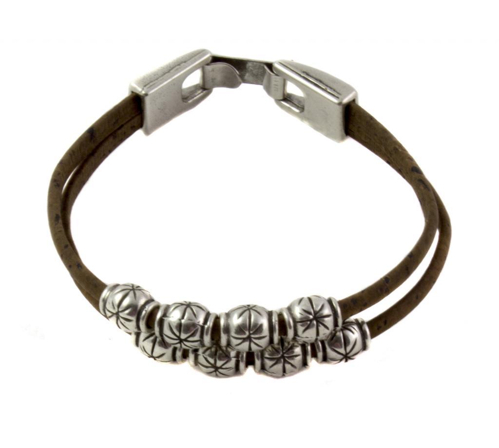 Bracelet étoilée brun