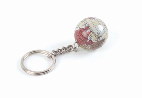 Porte-clés globe