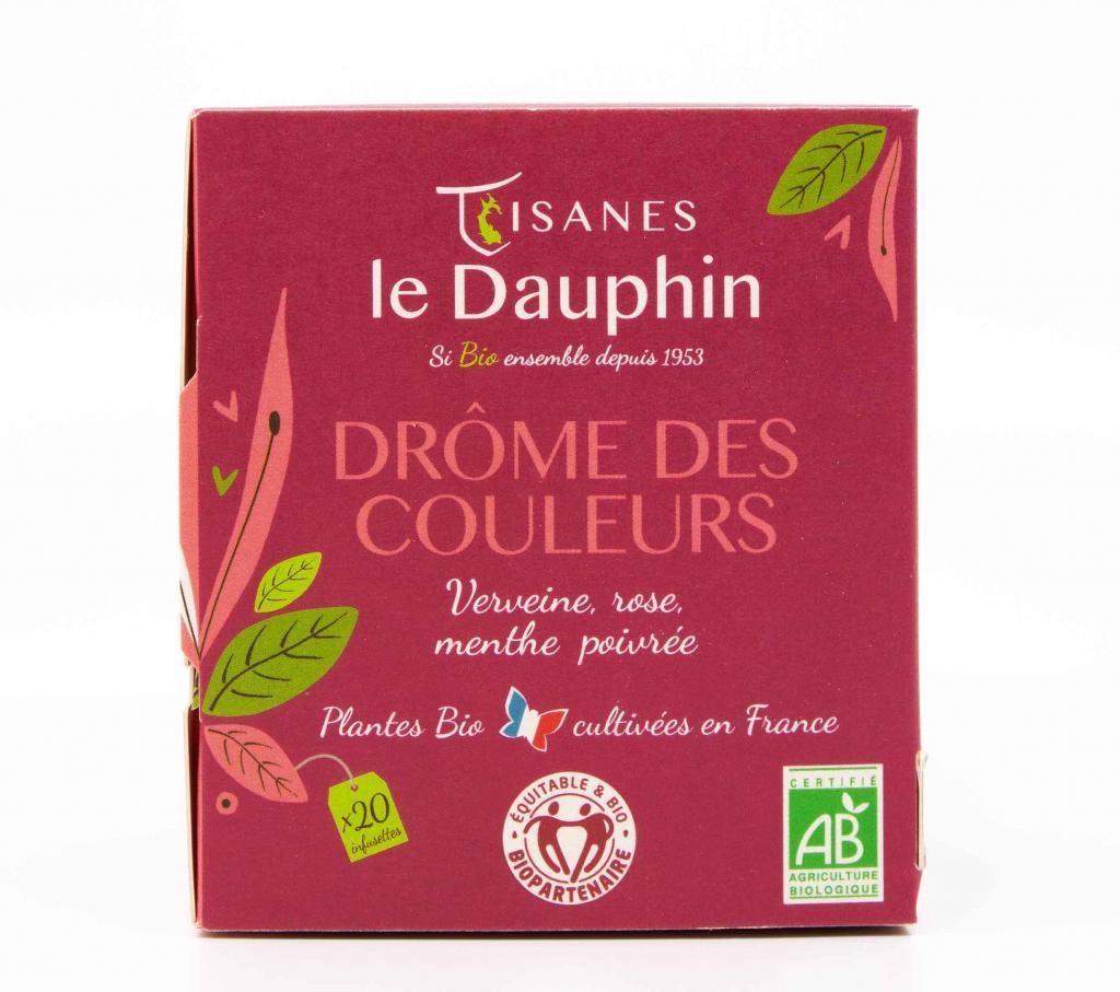 infusion bio france drome des couleurs tisanes le dauphin