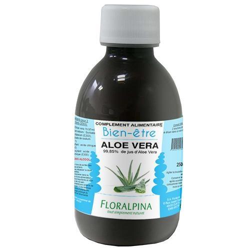 Jus d'aloe vera 250ml (99,85% de jus d'Aloe Vera)
