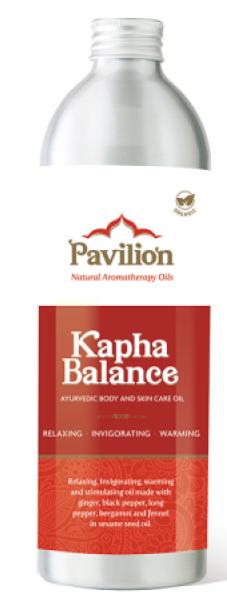 Huile ayurvédique d'équilibre kapha: 150 ml