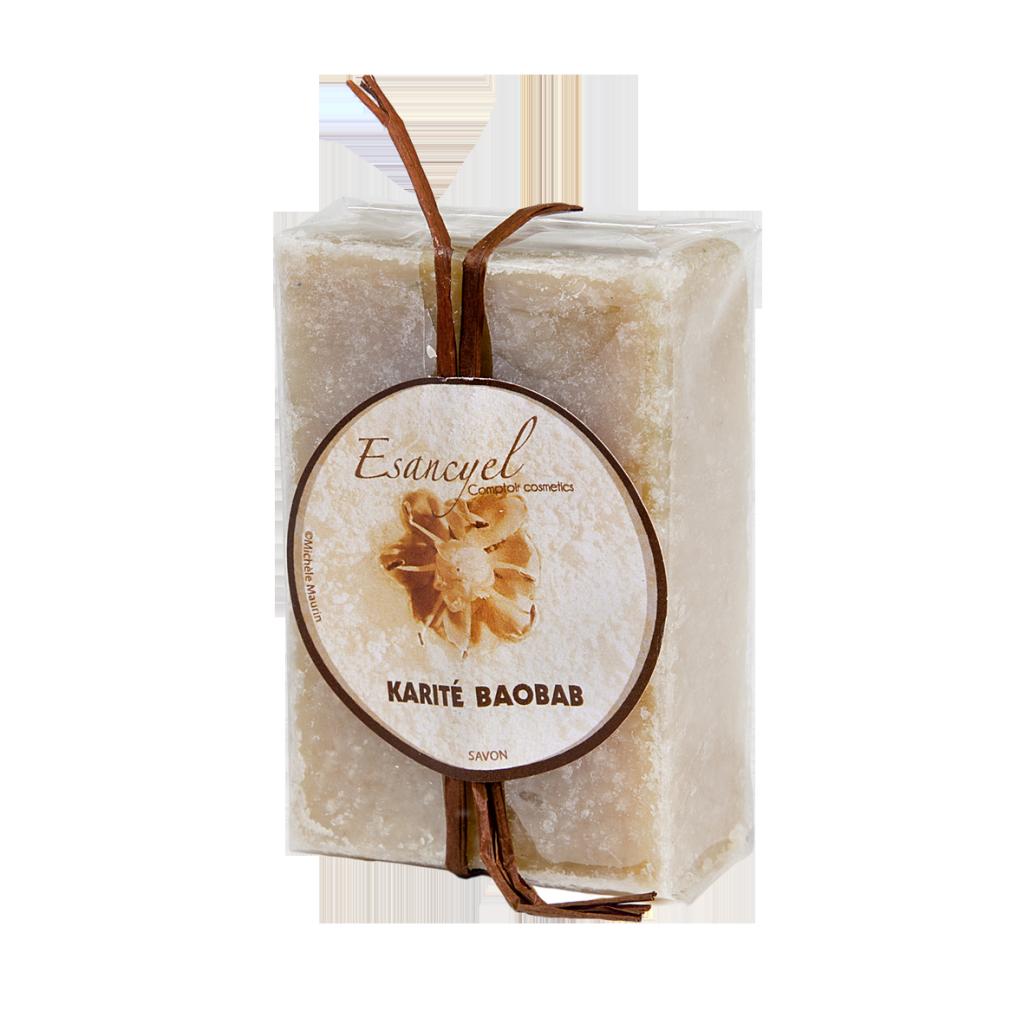 Pain de savon Karité- Baobab 100 grs
