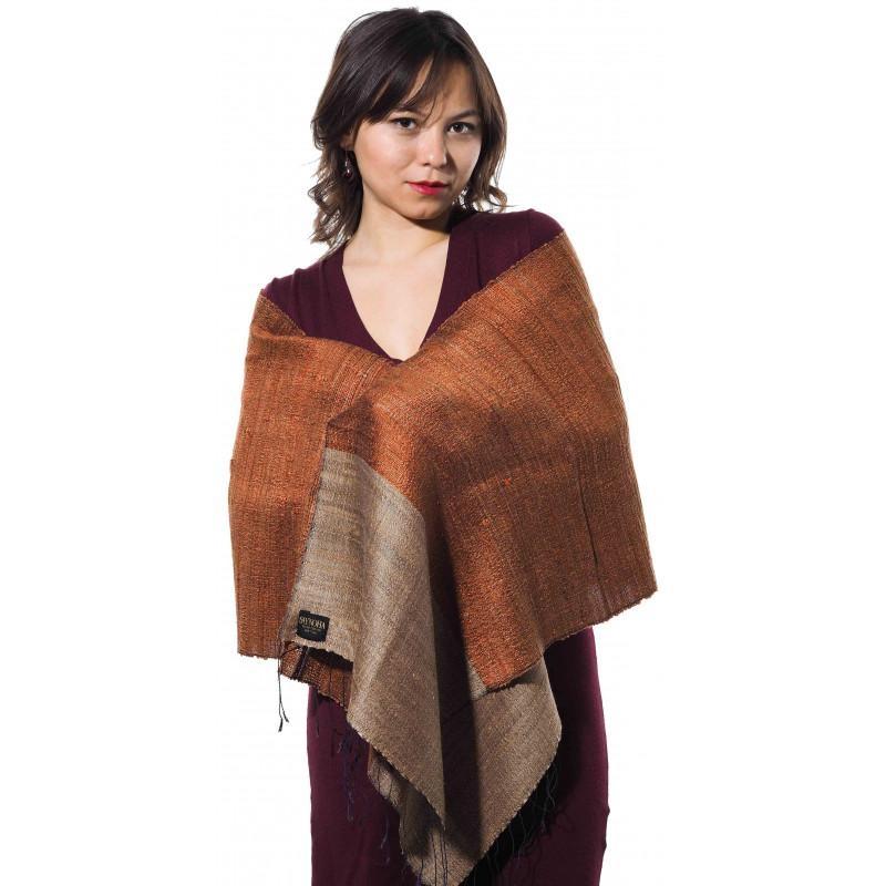Foulard en soie Ibisa