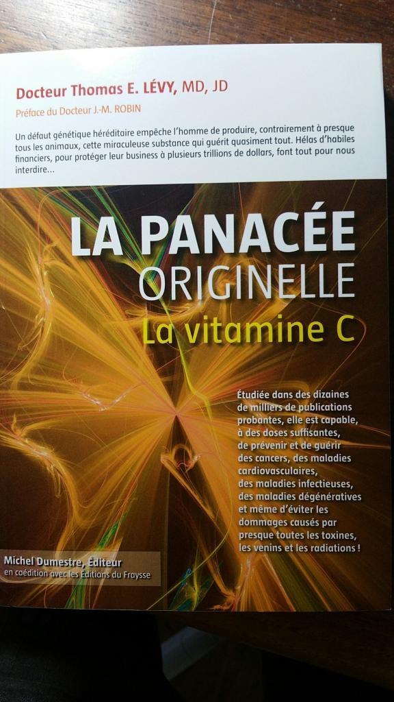 Livre la vitamine C recto