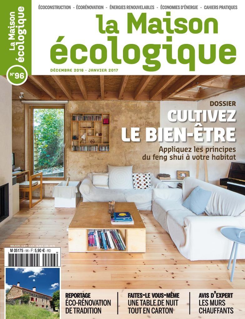 Magazine la maison cologique n 96 sevellia for Magazine maison