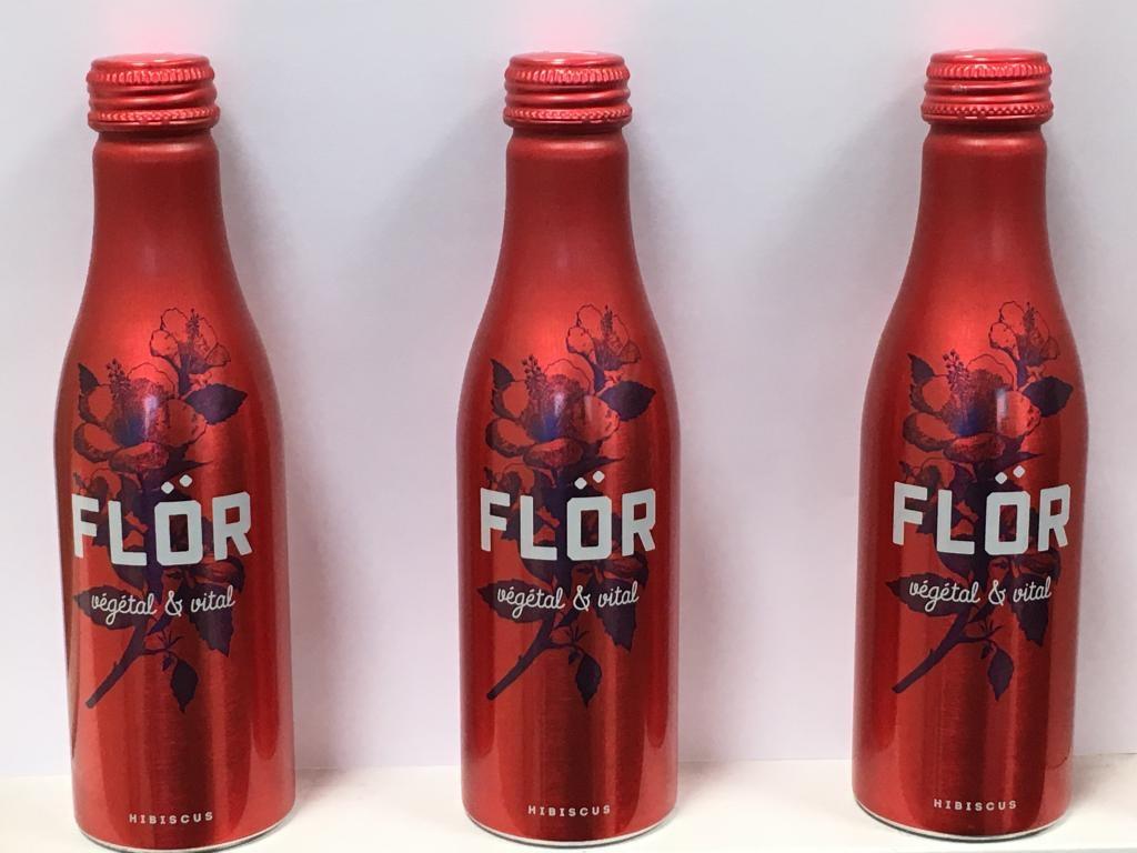 FLÖR Hibiscus 250ml - LOT DE 3 - Boisson 100% naturelle