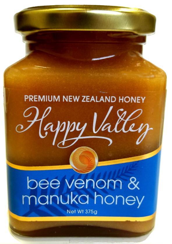 Miel de Nouvelle-Zélande au Venin d'abeilles, 375g