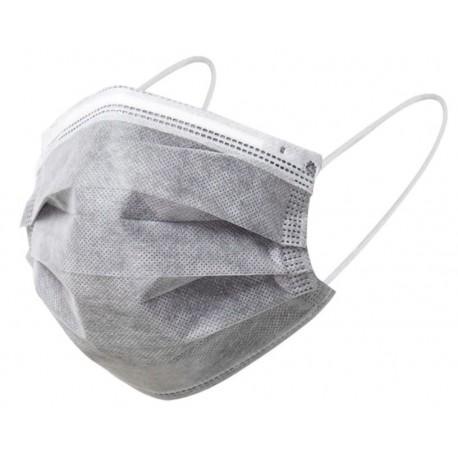 Masques chirurgicaux type 1 couleur gris - x50 - Atsante