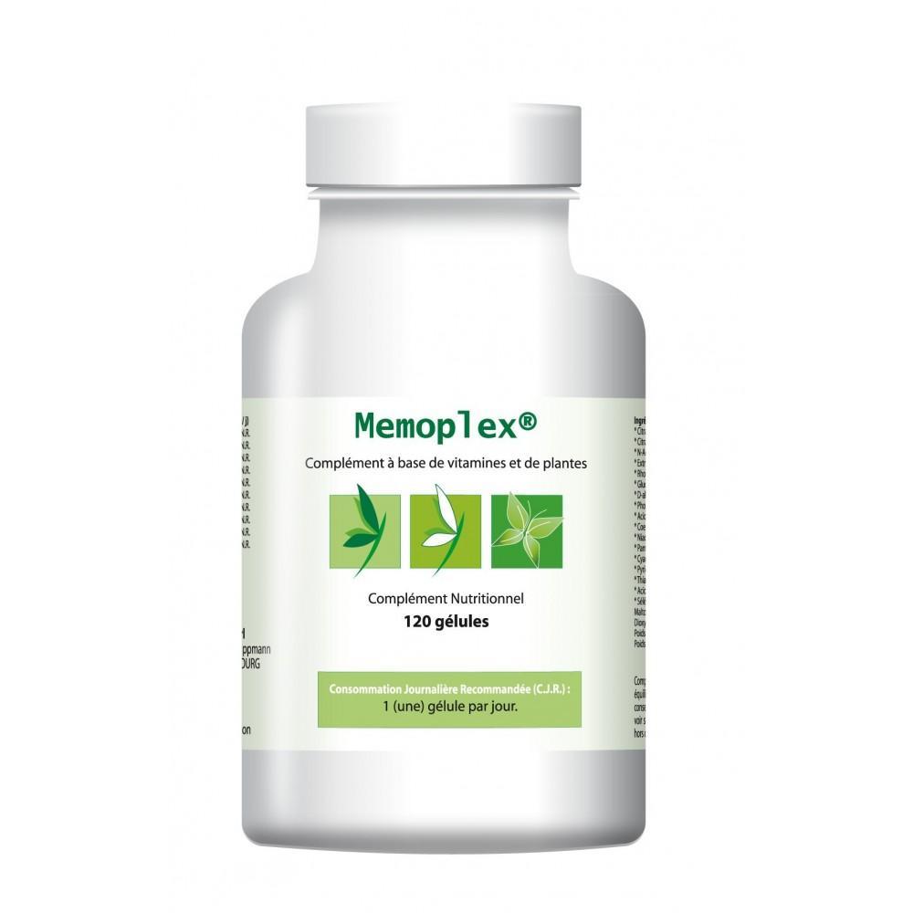 Memoplex (3 x 120 gélules) - Pour les troubles de la mémoire