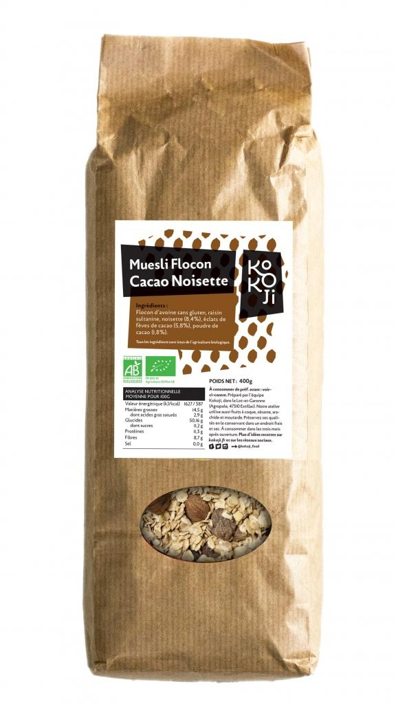 flocon cacao sachet
