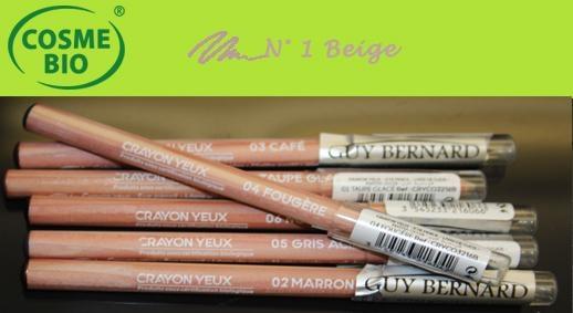 Crayon Bio Contour des yeux N° 1 Beige