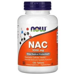 NAC,précurseur de Glutathion  1000 mg, 120 comprimés