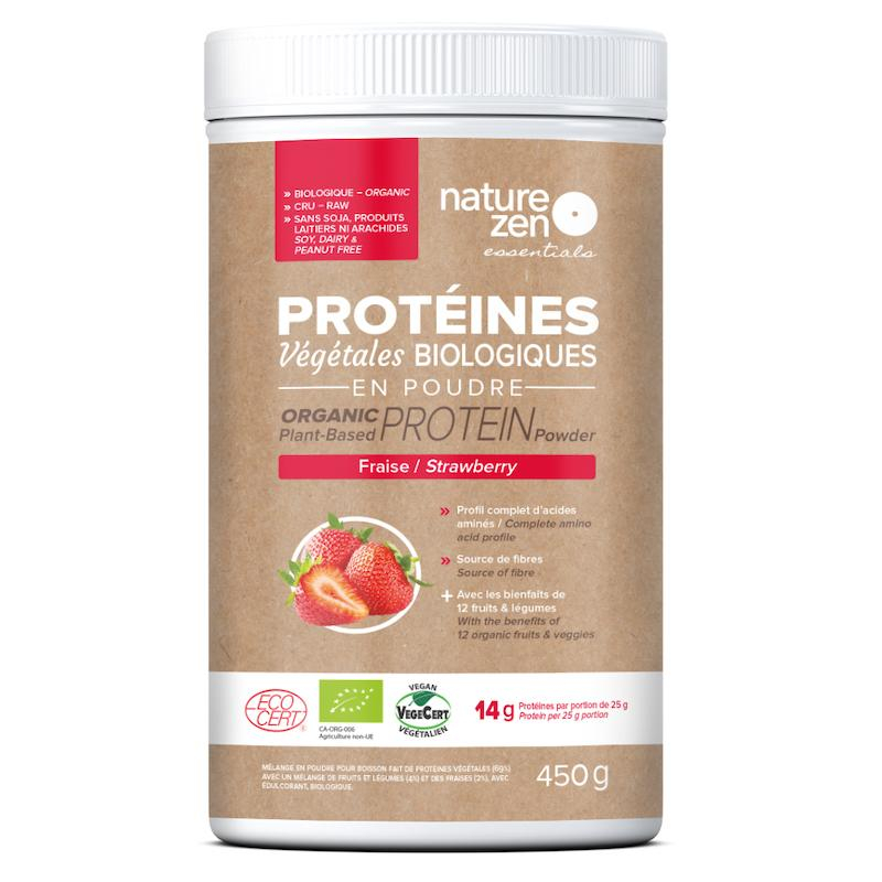 Nature Zen Essentials saveur fraise_Front