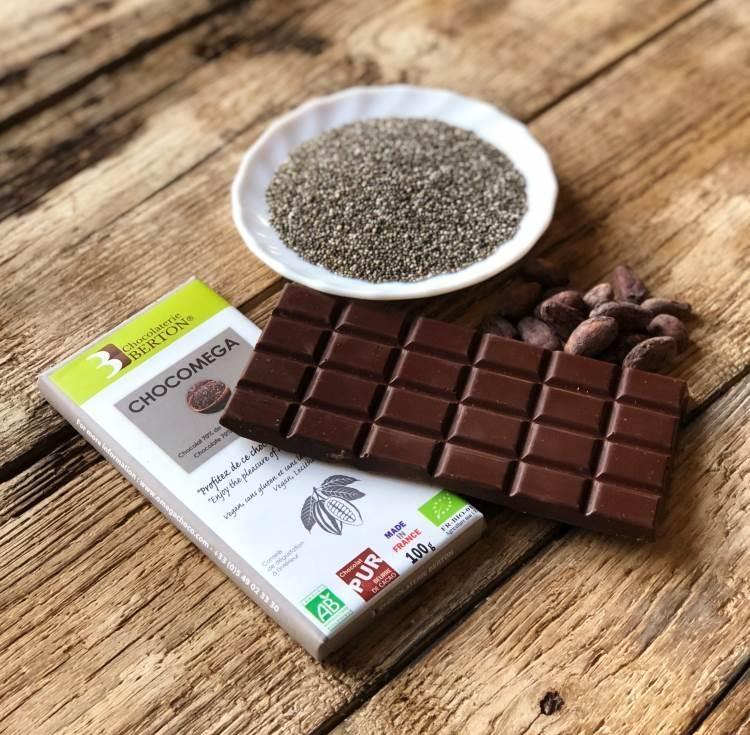 Chocolat noir Bio CHOCOMEGA