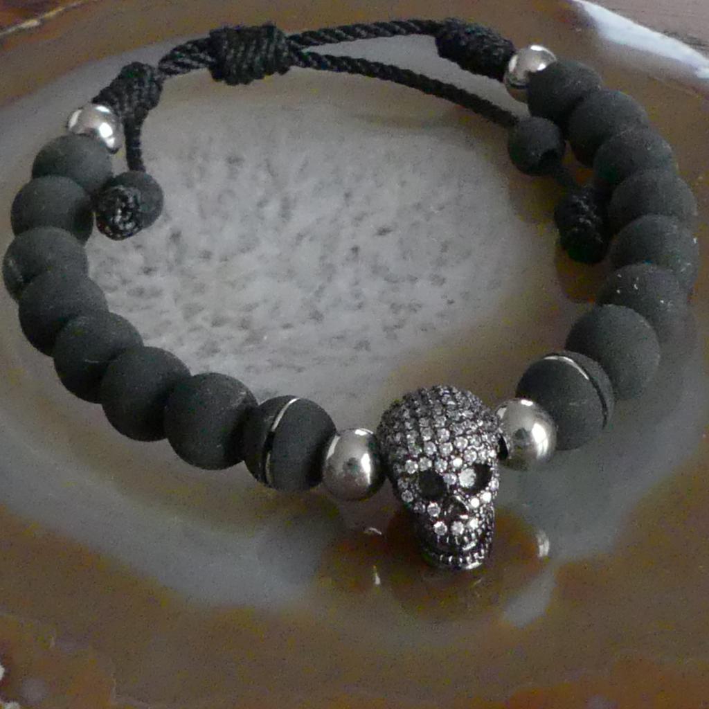 Bracelet Homme Néoprène Noir