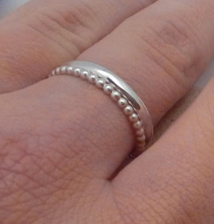 2 anneaux libres