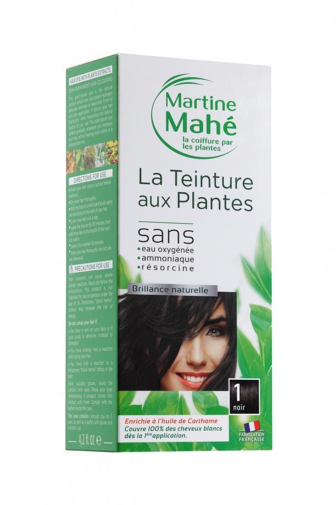 Teinture aux plantes N°1 Noir 125ml