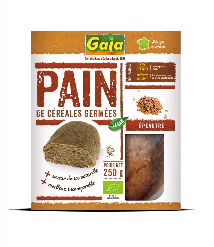 Pain de céréales germées Epeautre 250g